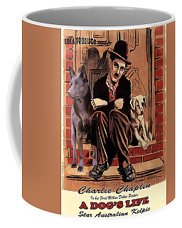 Australian Kelpie - A Dogs Life Movie Poster Coffee Mug