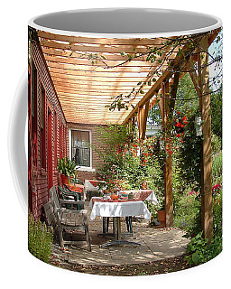 Autmn Garden Coffee Mug by John Selmer Sr