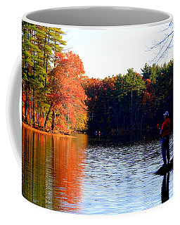 Autumn Angler Coffee Mug