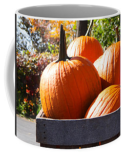 Coffee Mug featuring the photograph Autumn Harvest by Julia Wilcox