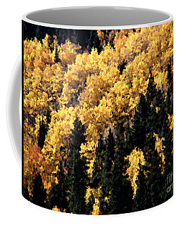 Autumn In Colorado Painting Coffee Mug