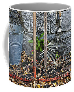 Autumn In The Garden Coffee Mug