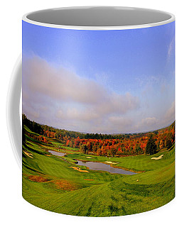 Autumn On A Golf Course Coffee Mug