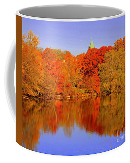 Autumn  On Mystic Lake Coffee Mug