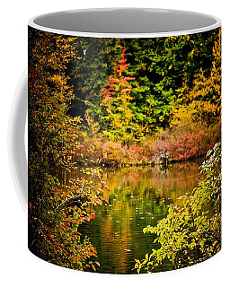 Autumn Splendor Coffee Mug by Sara Frank
