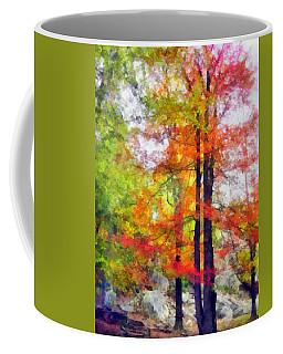 Autumnal Rainbow Coffee Mug