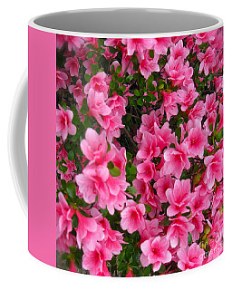 Coffee Mug featuring the photograph Azalea In Bloom by Nancy Patterson