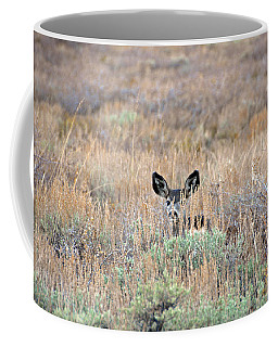 Babe In Hiding Coffee Mug by Lynn Bauer