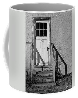 Back Door Coffee Mug by Vicki Pelham