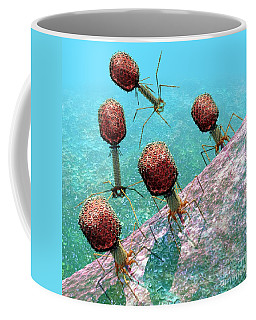 Bacteriophage T4 Virus Group 1 Coffee Mug