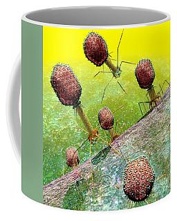 Bacteriophage T4 Virus Group 2 Coffee Mug