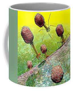 Bacteriophage T4 Virus Group 2 Coffee Mug