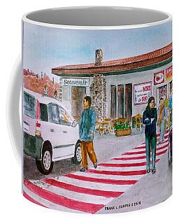 Bar Ristorante Mt. Etna Sicily Coffee Mug by Frank Hunter