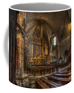 Baroque Church In Savoire France 2 Coffee Mug by Clare Bambers