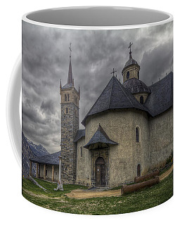 Baroque Church In Savoire France 6 Coffee Mug by Clare Bambers