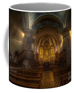 Baroque Church In Savoire France Coffee Mug by Clare Bambers