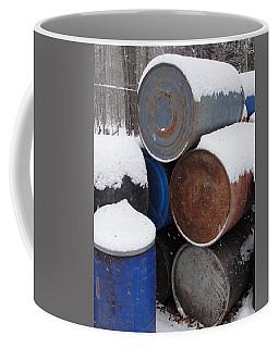 Coffee Mug featuring the photograph Barrel Of Food by Tiffany Erdman