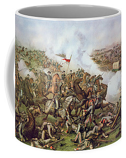 Battle Of Five Forks Virginia 1st April 1865 Coffee Mug