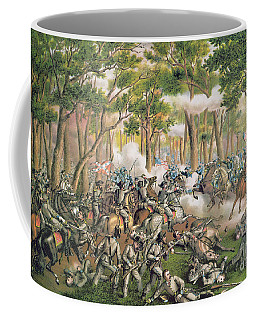 Battle Of The Wilderness May 1864 Coffee Mug