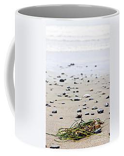 Beach Detail On Pacific Ocean Coast Of Canada Coffee Mug