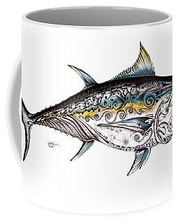 Beautiful Blue Fin Coffee Mug