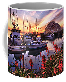Coffee Mug featuring the photograph Beautiful Morro Bay by Beth Sargent