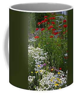 Bed Of Flowers Coffee Mug