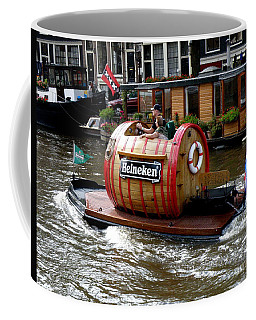 Beer Boat Coffee Mug by Lainie Wrightson