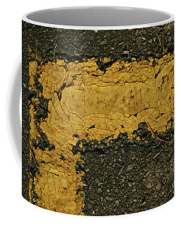 Behind The Yellow Line Coffee Mug