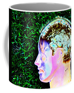 Being Of Light Coffee Mug by Xn Tyler