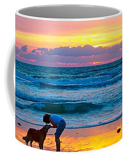 Coffee Mug featuring the photograph Bella At Sunrise by Alice Gipson