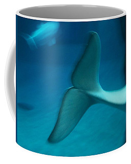 Beluga Tail Coffee Mug by Peter Mooyman