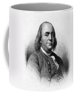 Coffee Mug featuring the photograph Benjamin Franklin by International  Images