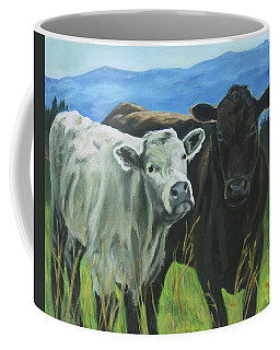 Best Friends Ivory And Ebony Coffee Mug