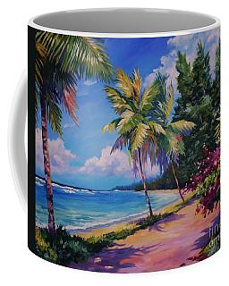 Between The Palms Coffee Mug