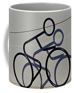 Bicycle Shadow Coffee Mug