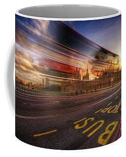 Big Ben Bus Stop Coffee Mug