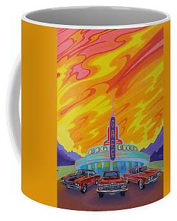 Big Block Cafe Coffee Mug