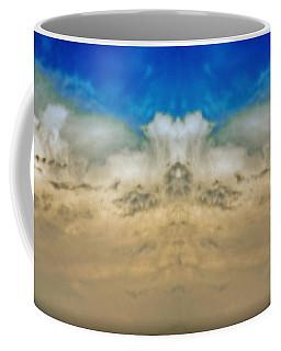 Big Ol Clouds Panorama Coffee Mug