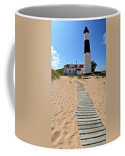 Big Sable Lighthouse At Ludington State Park Coffee Mug