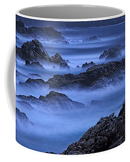 Coffee Mug featuring the photograph Big Sur Mist by William Lee