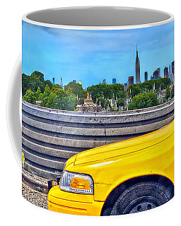 Big Yellow Taxi Coffee Mug