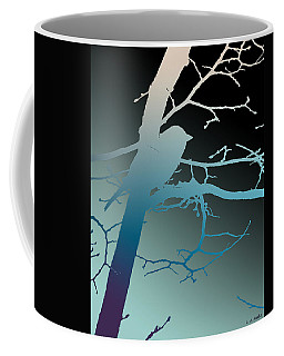 Coffee Mug featuring the photograph Bird At Twilight by Lauren Radke