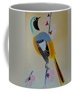 Coffee Mug featuring the photograph Bird Print by Julia Wilcox