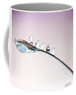 Birds On A Streetlight Coffee Mug