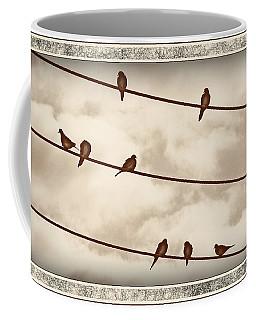 Birds On Wires Coffee Mug