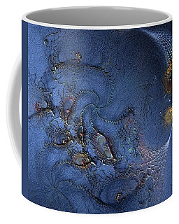 Coffee Mug featuring the digital art Birth Of The Cool by Casey Kotas