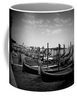 Black And White Gondolas Coffee Mug