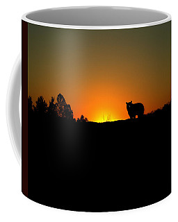 Black Bear Sunset Coffee Mug by TnBackroadsPhotos