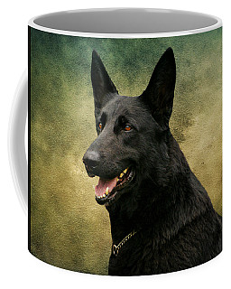 Black German Shepherd Dog IIi Coffee Mug